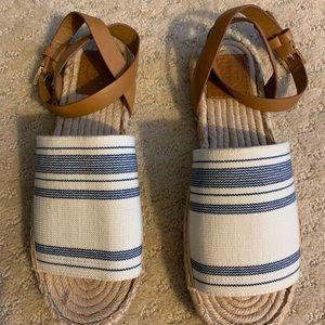 TORY BURCH | 💙 Espadrille Sandals (7) EUC
